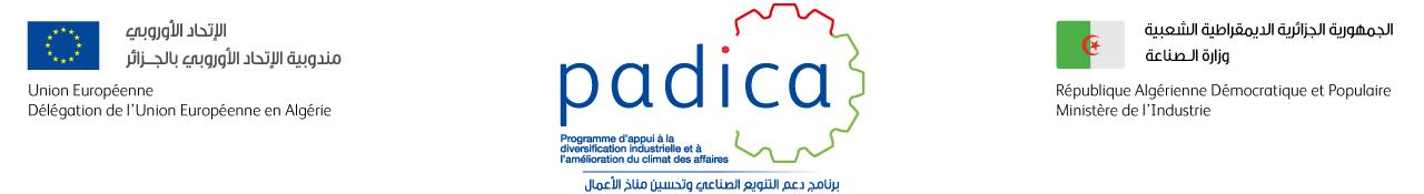 Programme d'Appui à la Diversification Industrielle et à l'Amélioration du Climat des Affaires Logo